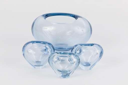 Holmegaard Menuet Vases