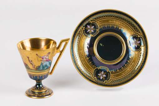Royal Vienna Cup and Saucer