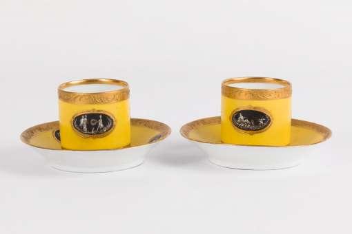 Demitasse Cup & Saucers