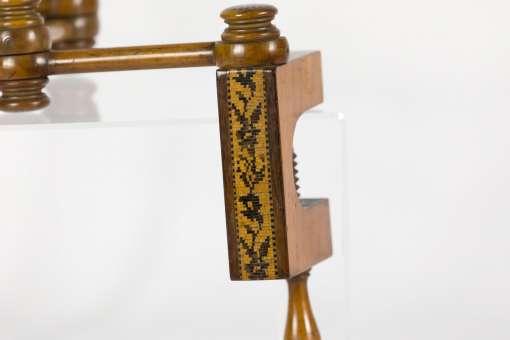 Tumbridge Ware Candle Holder