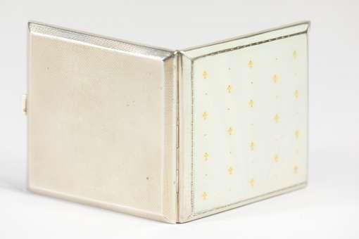 Enamel Cigarette Box