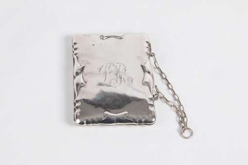 Silver Lady's Dance Purse