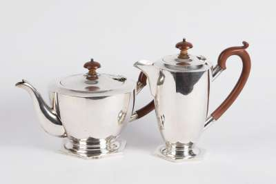 Australian Silver Coffee & Tea Pot