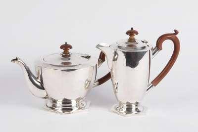 Australian Silver Coffee & Tea Pot