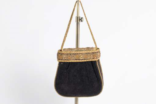 Black Velvet Bag