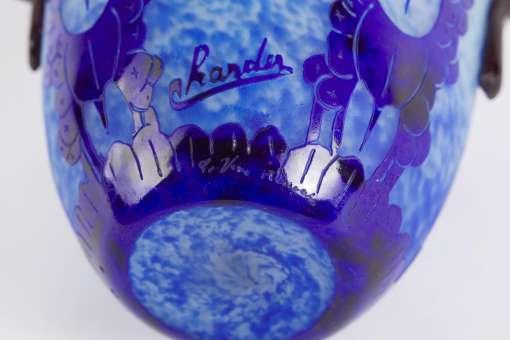 Charles Schneider Myrtilles Vase
