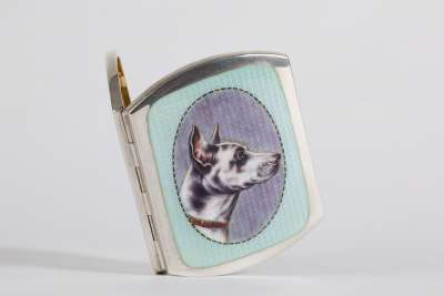 Enamel Cigarette Box