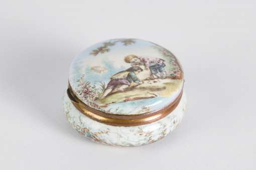 French Enamel Box