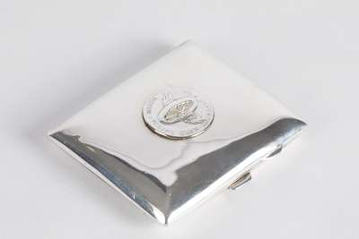 Silver Cigarette Case