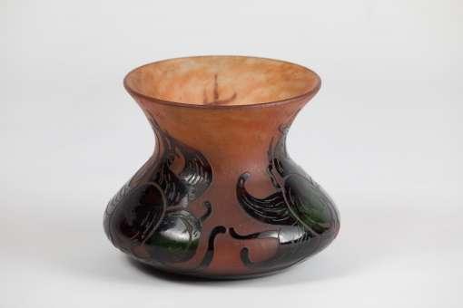 Charles Schneider Vase 'Prunes'