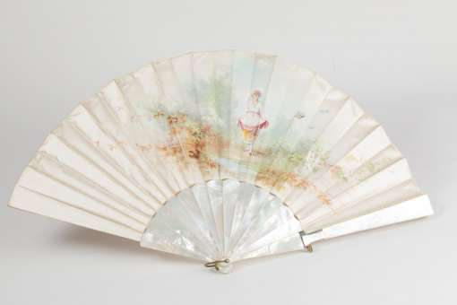 French Silk Fan