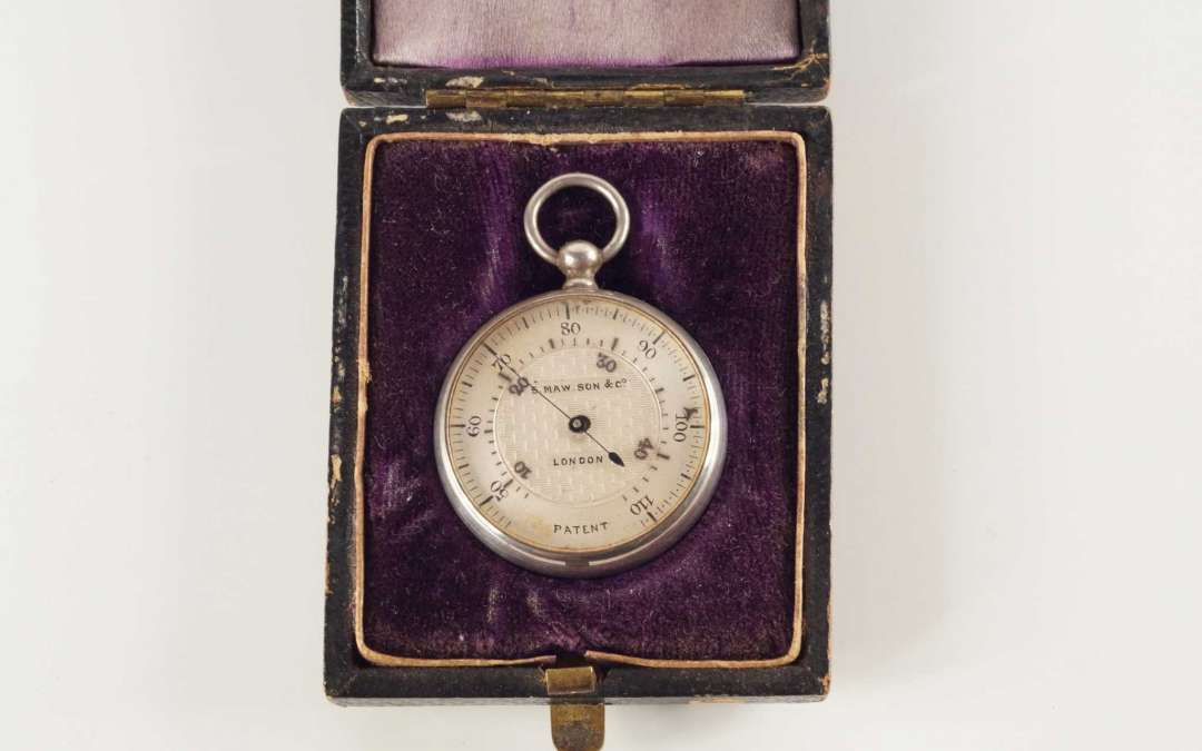 The Watch Shaped Thermometer